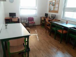 Počítačová místnost - učebna